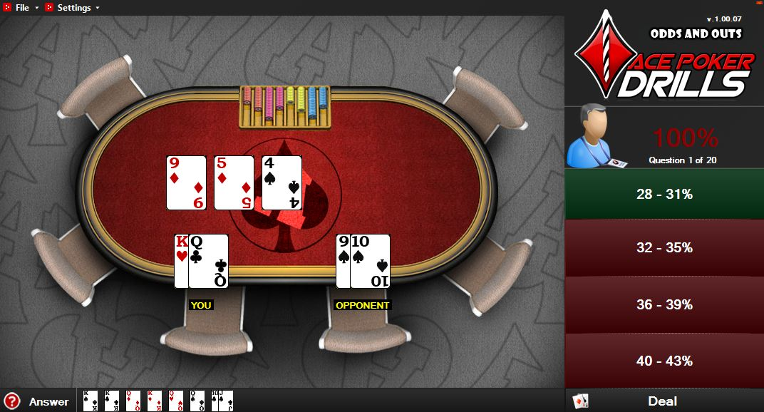 Poker hands you can get