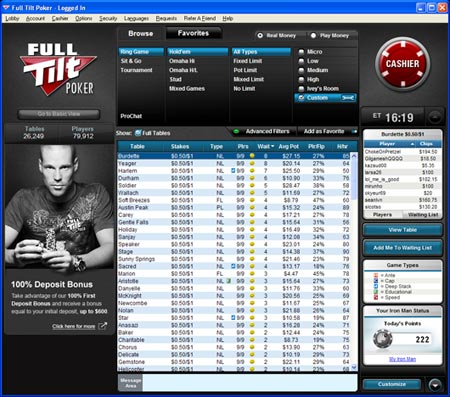 full tilt software