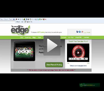 Review tournament poker edge